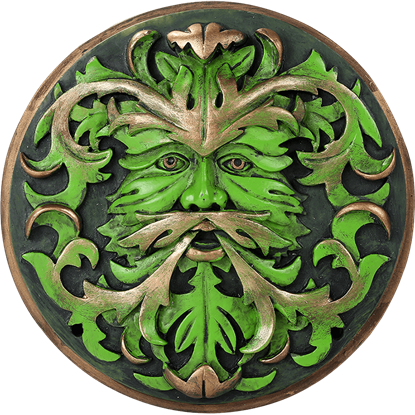 Bronzed Greenman Plaque