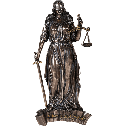 Lady Justice Wall Plaque