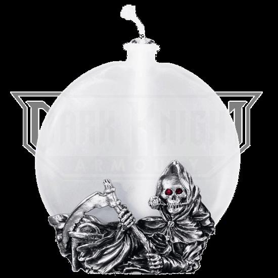Grim Reaper Oil Lamp