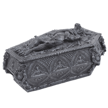 Gargoyle Sarcophagus Jewelry Box