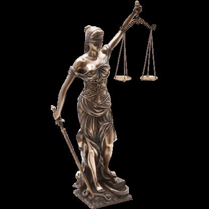 Medium Lady Justice Statue