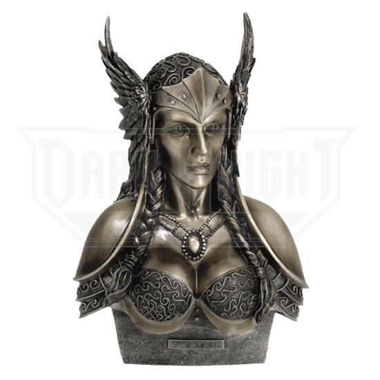 Valkyrie Bust Statue