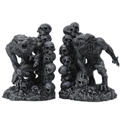 Werewolf Bookends