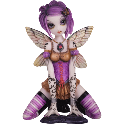 Addison Fairy Statue by Myka Jelina