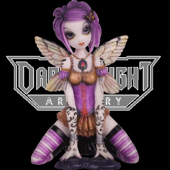 Addison Fairy Statue by Myka Jelina