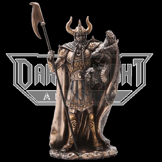 Bronze Loki Statue