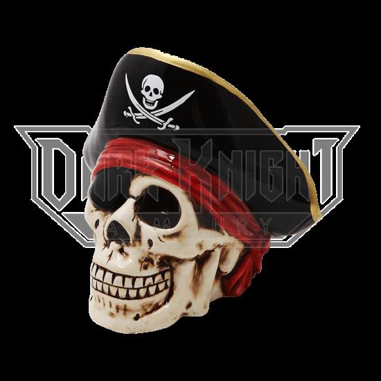 Pirate Captain Skull Bank