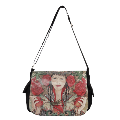 Daughter of Avalon Messenger Bag by Linda Ravenscroft