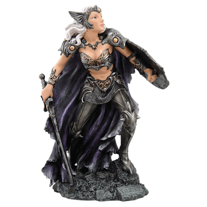 Full Color Valkyrie Statue