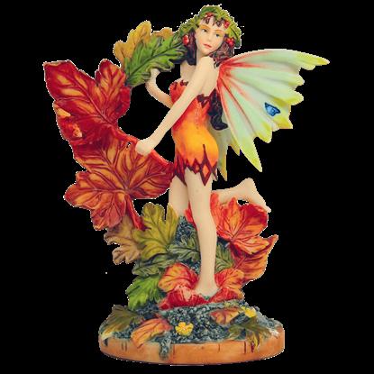 Autumn Leaf Fairy Statue