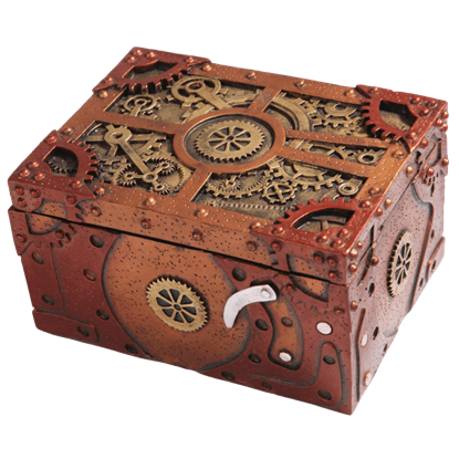 Clockwork Steampunk Storage Box