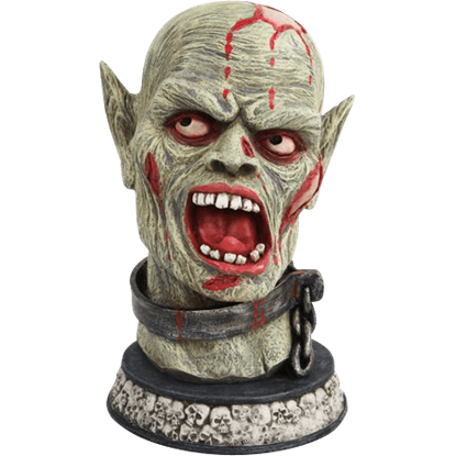 Shackled Zombie Bust