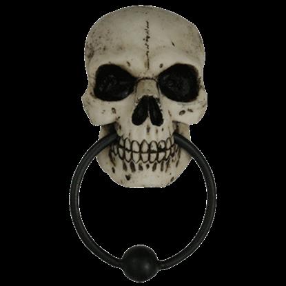 Gothic Skull Door Knocker