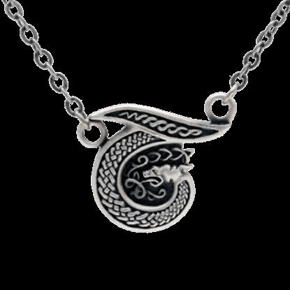 Celtic Alphabet Necklace