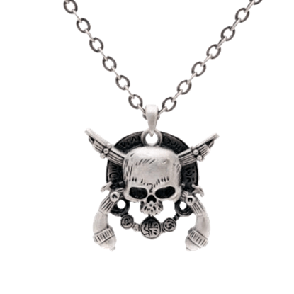 Crossed Skull Necklace
