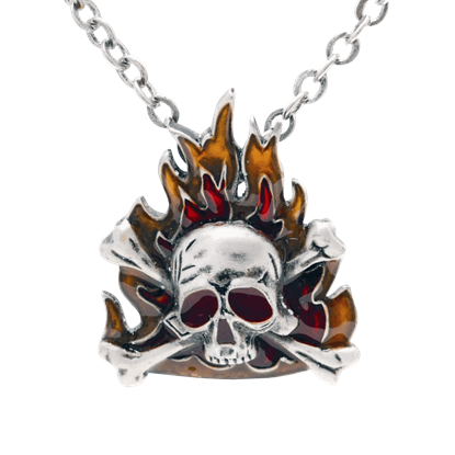 Pirate Flames Necklace
