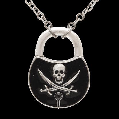 Pirate Padlock Necklace