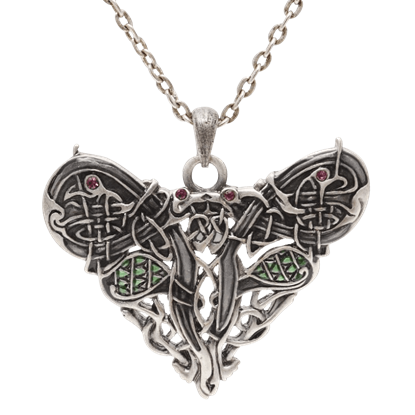 Celtic Dragon Heart Necklace