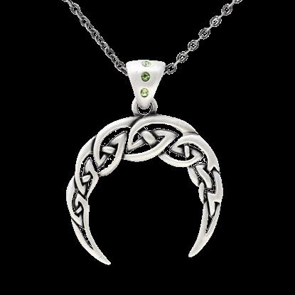 Celtic Crescent Necklace