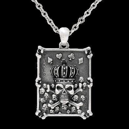 Skull Poker Necklace