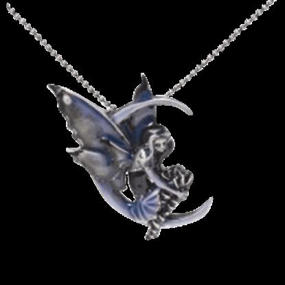Blue Moon Diva II Fairy Necklace