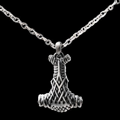Celtic Mjolnir Hammer Necklace