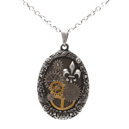Mechanical Royalty Steampunk Necklace