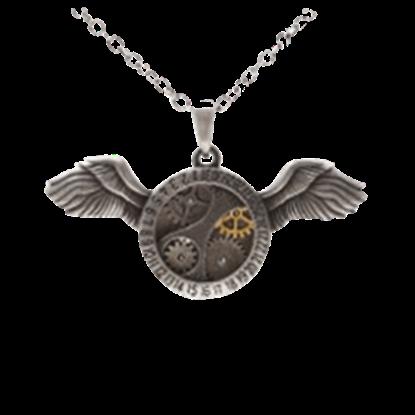 Victorian Flight Steampunk Necklace