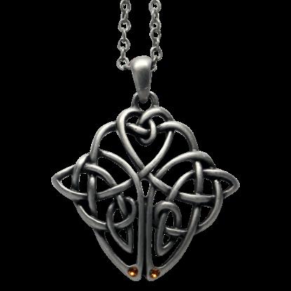 Celtic Shield Knot Necklace