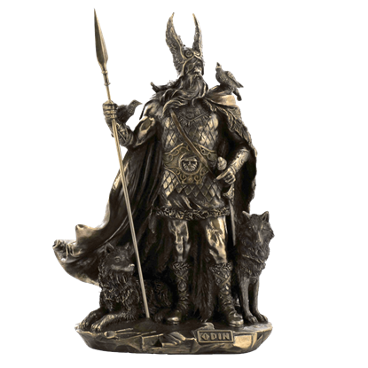 Norse God - Odin Statue