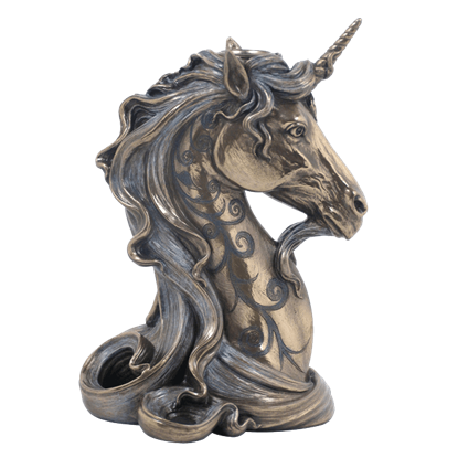 Unicorn Head Candle Holder