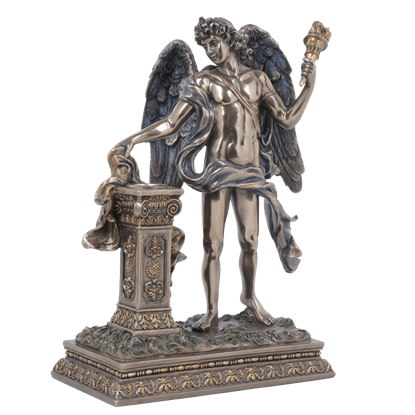 Angel Holding Torch Statue