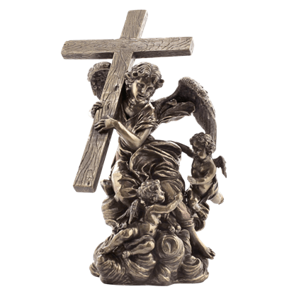 Angel Carrying Cross- From Alaleona Chapel Statue