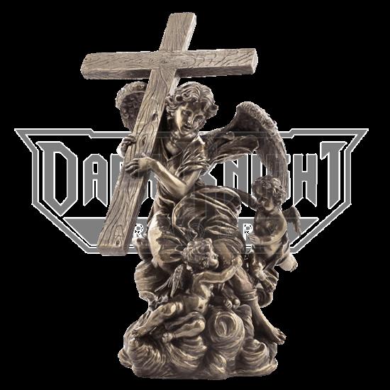 Angel Carrying Cross- From Alaleona Chapel Statue