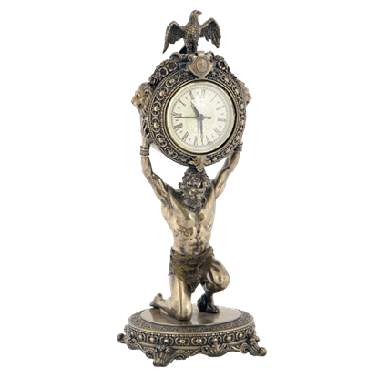 The Titan Atlas Clock