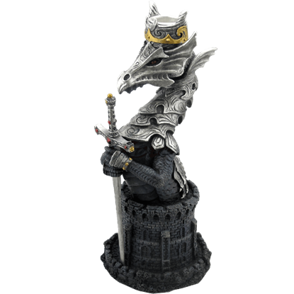 Armored Dragon Candle Stick