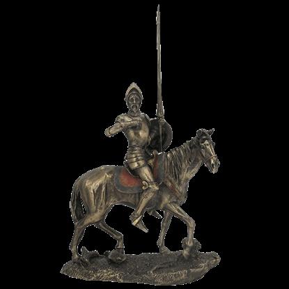 Don Quixote on Horse Statue