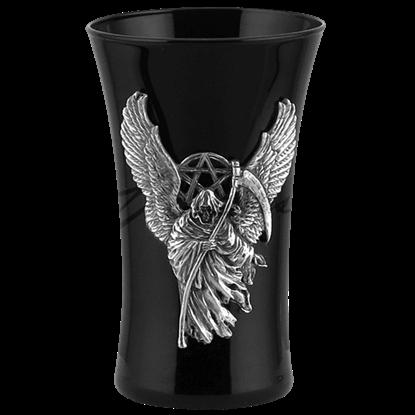 Winged Grim Reaper Shot Glass