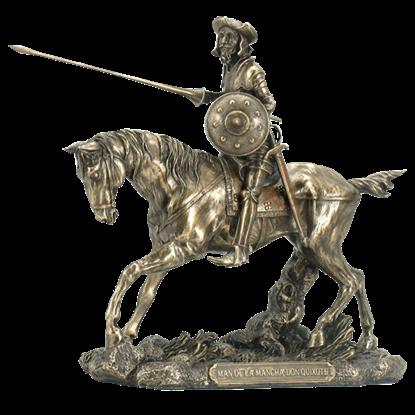 Don Quixote with Lance Statue