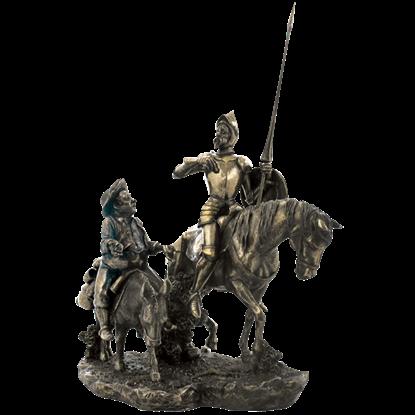 Don Quixote and Sancho Panza Statue