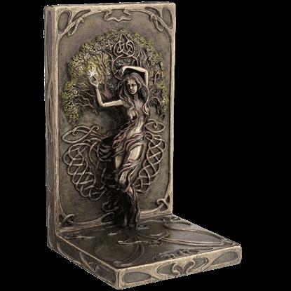 Bronze Earth Life Magic Bookend