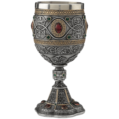 Holy Grail Cast Pewter Goblet