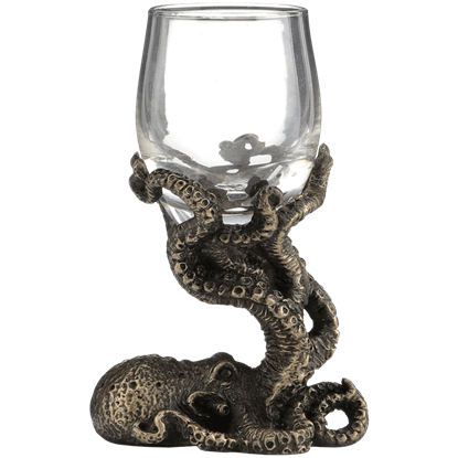 Octopus Tasting Glass