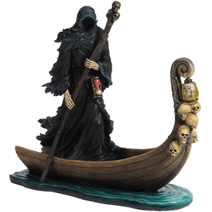 Charon of the Underworld LED Statue