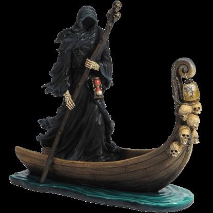 Charon of the Underworld LED Statue