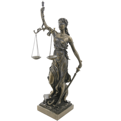 Lady Justice Statue