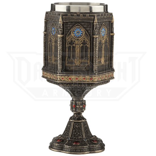 Bronze Cathedral Chalice