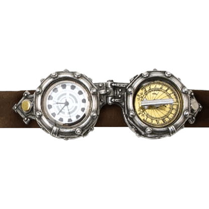 Aviator's Wrist-Goggle Chronomitor Wrist Watch