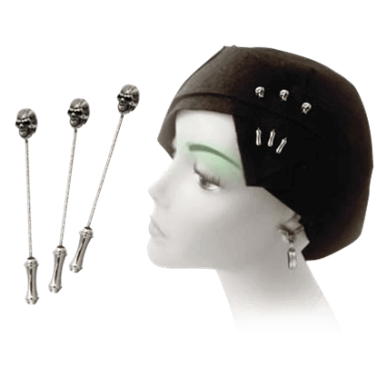 Memling Skull Dress Pins