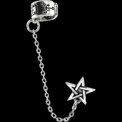 Pentagram Earring